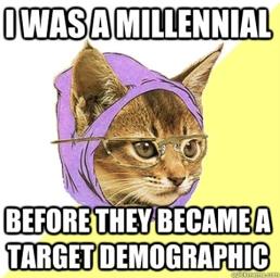 millenial cat